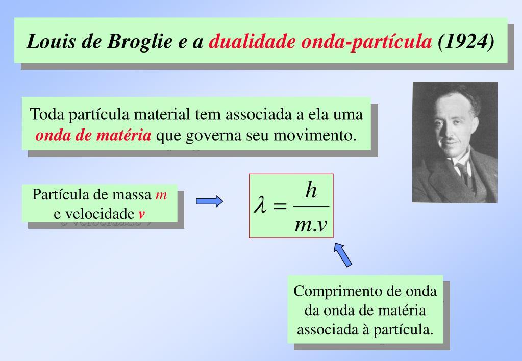 Louis de Broglie e a