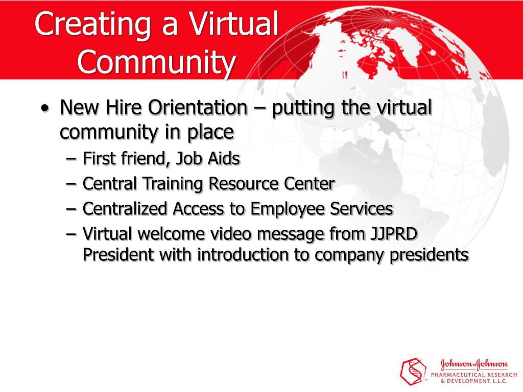 Creating a Virtual Community