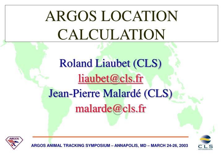 Argos location calculation l.jpg