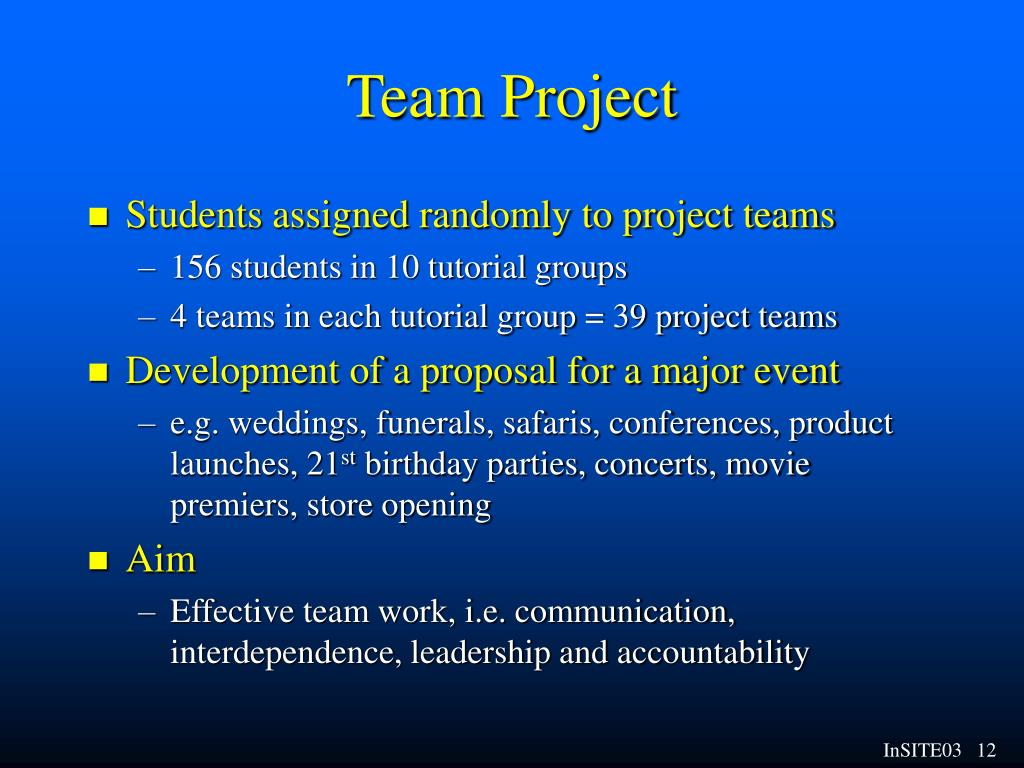 Team Project