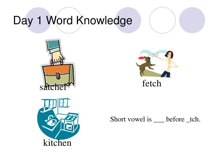Day 1 word knowledge3