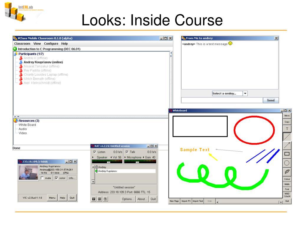 Looks: Inside Course
