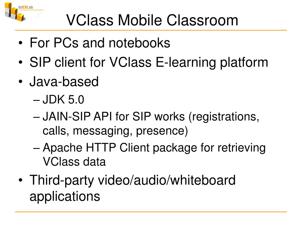 VClass Mobile Classroom