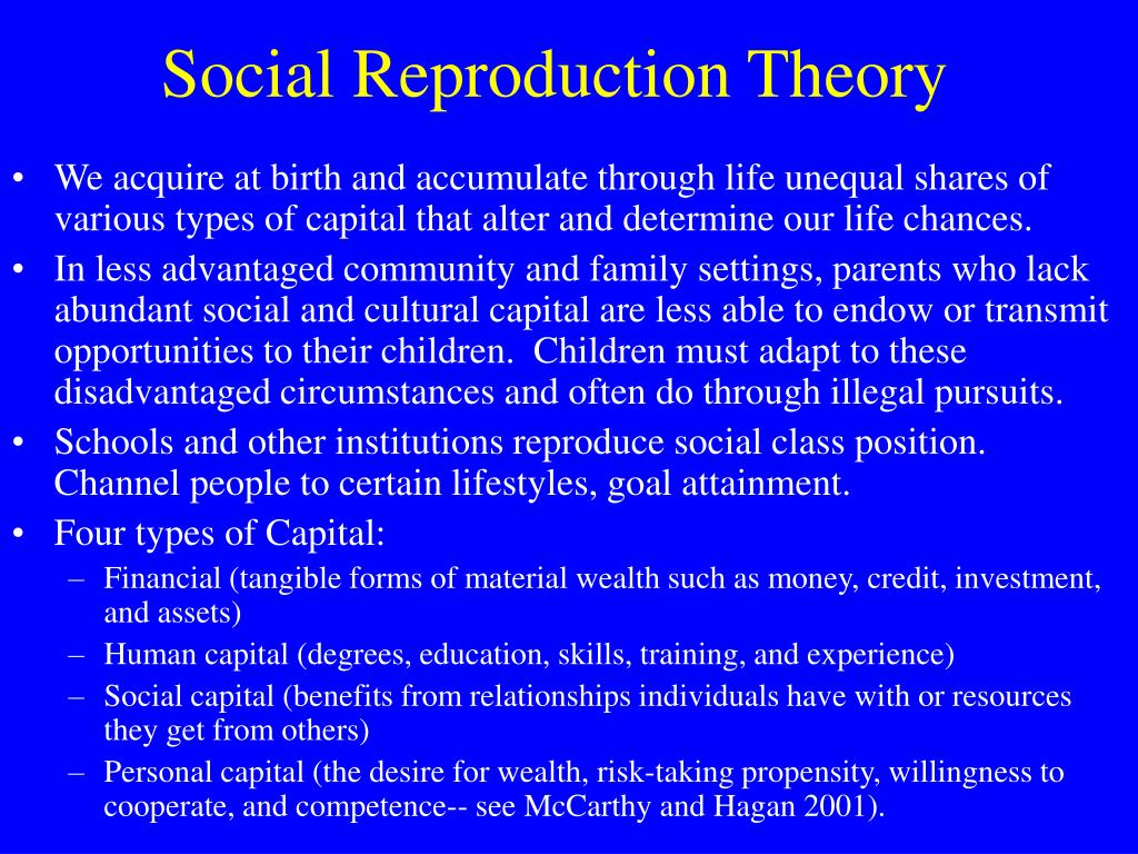 use of the human capital theory sociology essay This research has extended across the disciplines of sociology, public health,   as compared to physical capital, which takes observable material form, and  human capital, which  this paper employs the concept of social capital as a  mode of inquiry into why  the theory of social capital addresses such social  processes.
