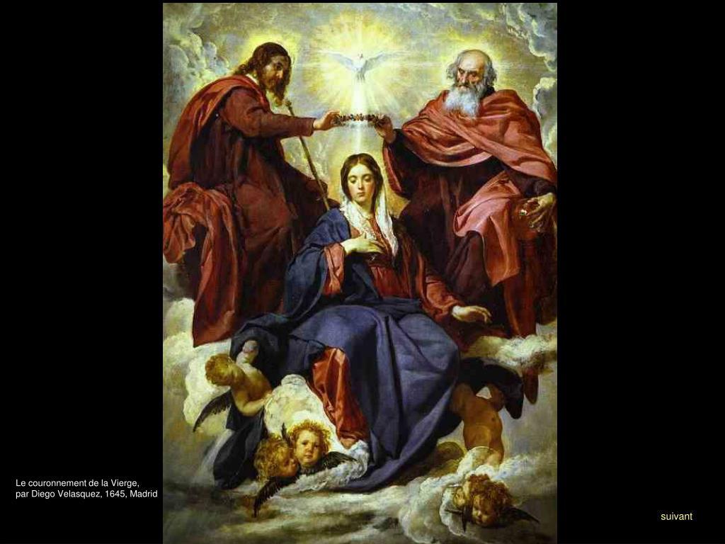 Le couronnement de la Vierge,