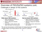 challenges in design of fso systems