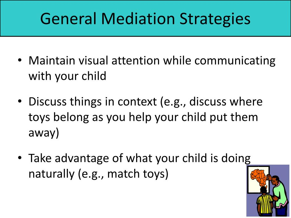 General Mediation Strategies
