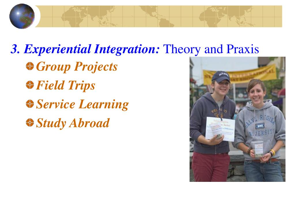 3. Experiential Integration: