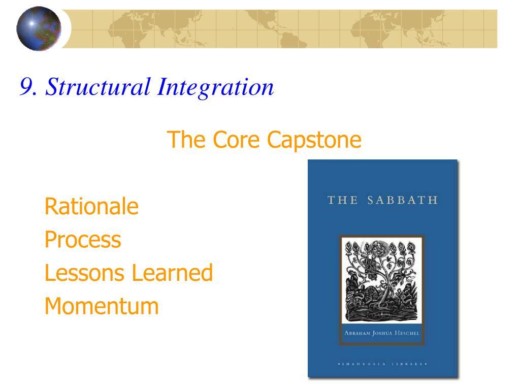 9. Structural Integration