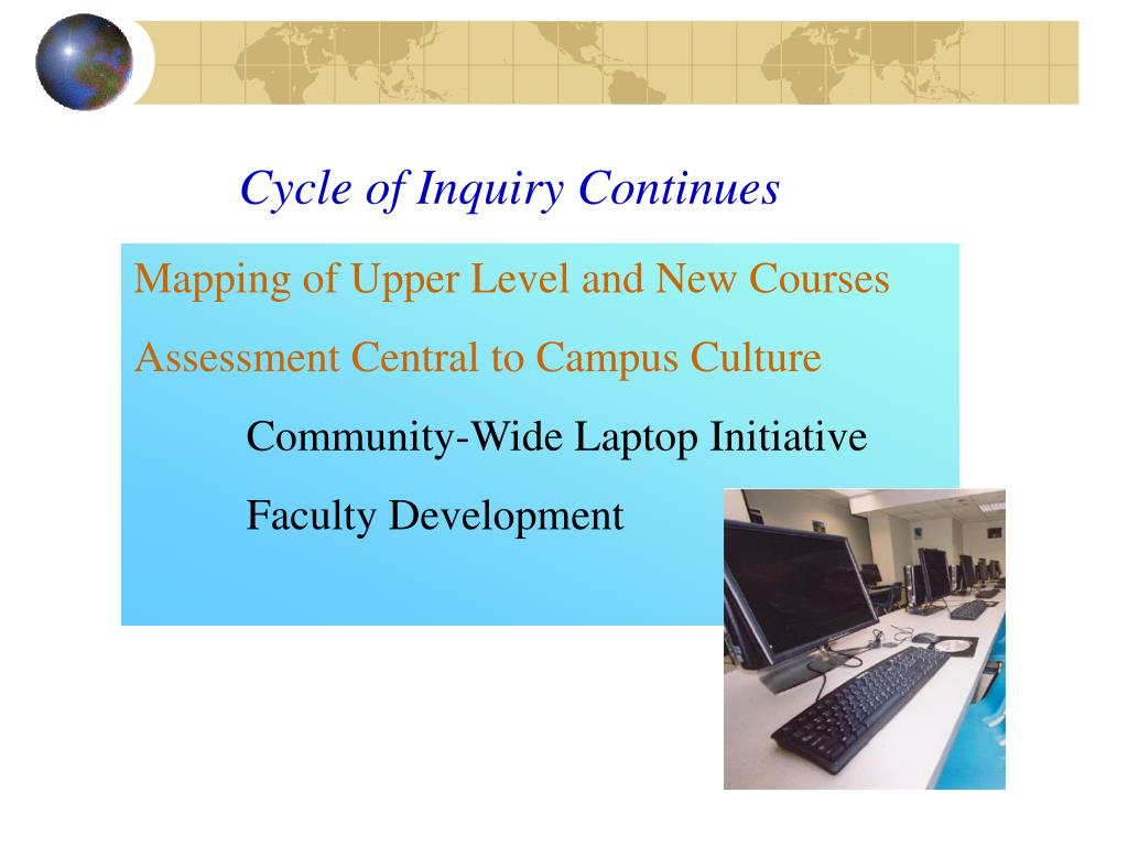 Cycle of Inquiry Continues
