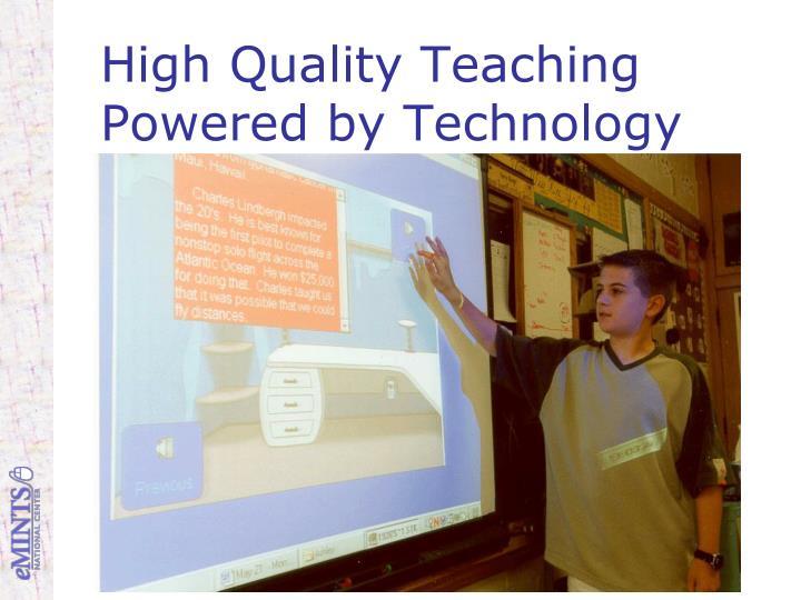 High Quality Teaching