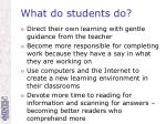 what do students do