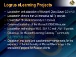 logrus elearning projects