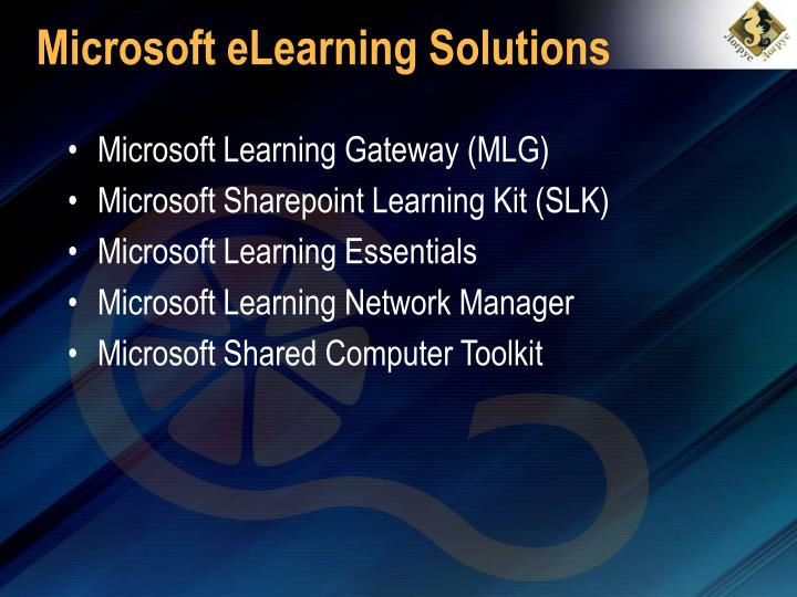 Microsoft eLearning Solutions