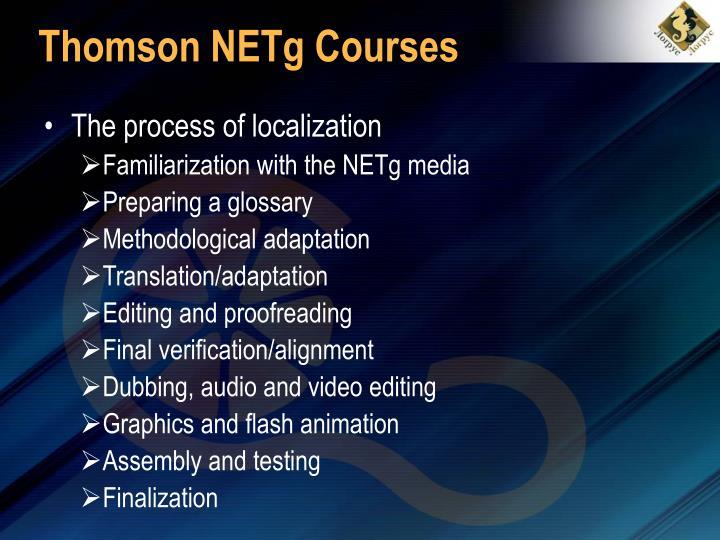 Thomson NETg