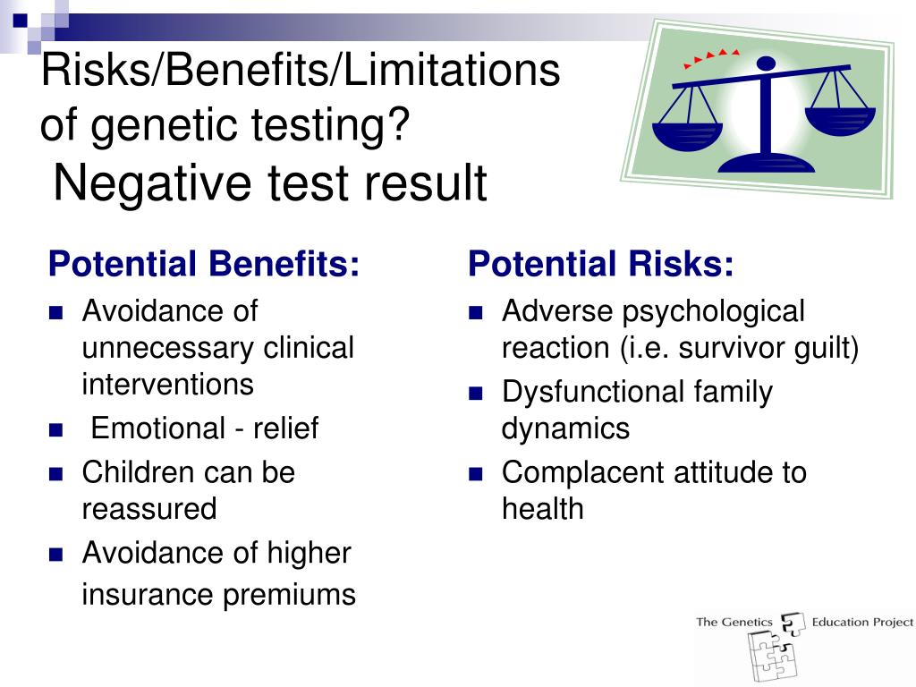 Potential Benefits: