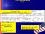 part i administrative data cont14