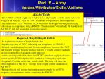 part iv army values attributes skills actions32