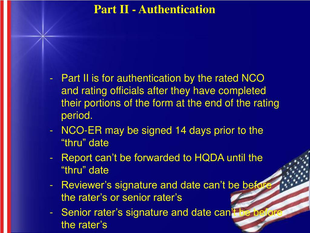 Part II - Authentication