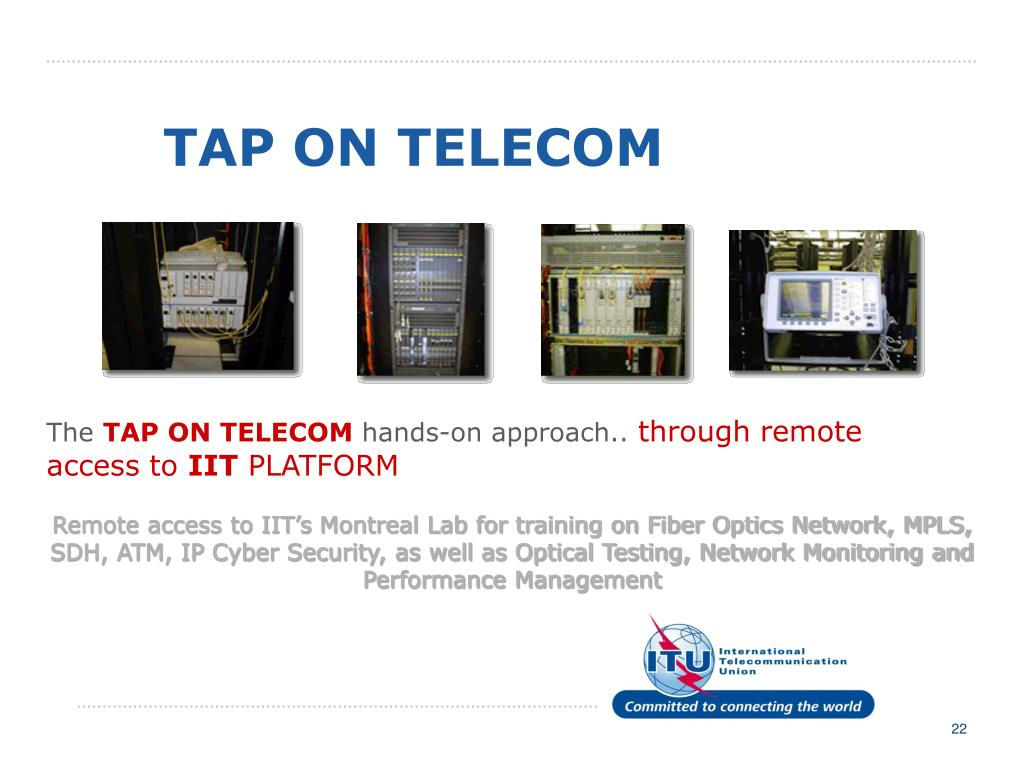 TAP ON TELECOM