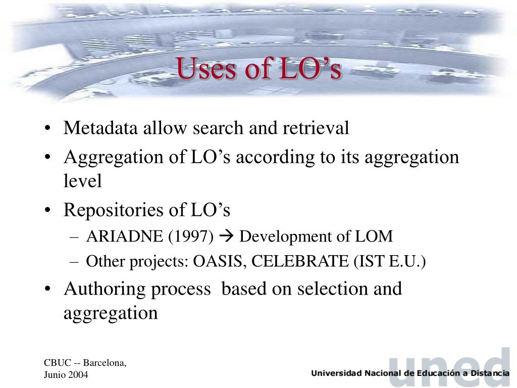 Uses of LO's