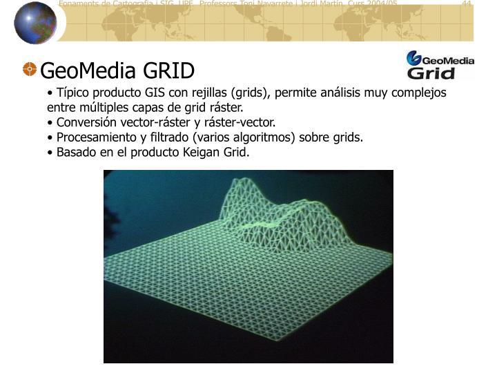 GeoMedia GRID