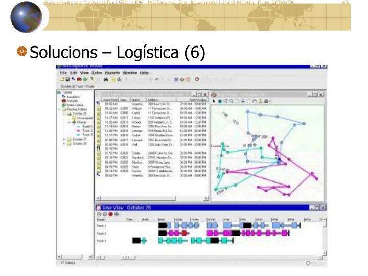 Solucions – Logística (6)