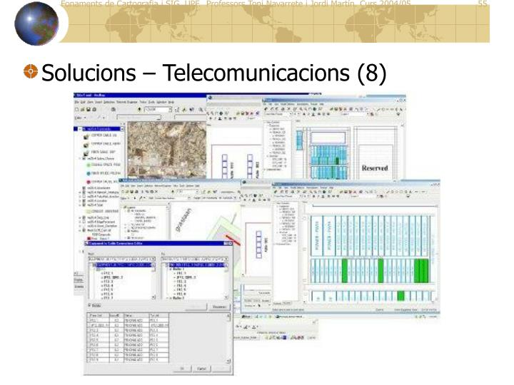 Solucions – Telecomunicacions (8)