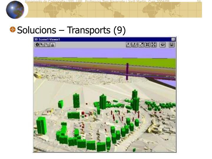 Solucions – Transports (9)