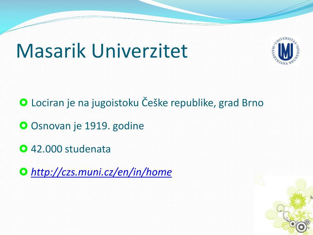Masarik Univerzitet
