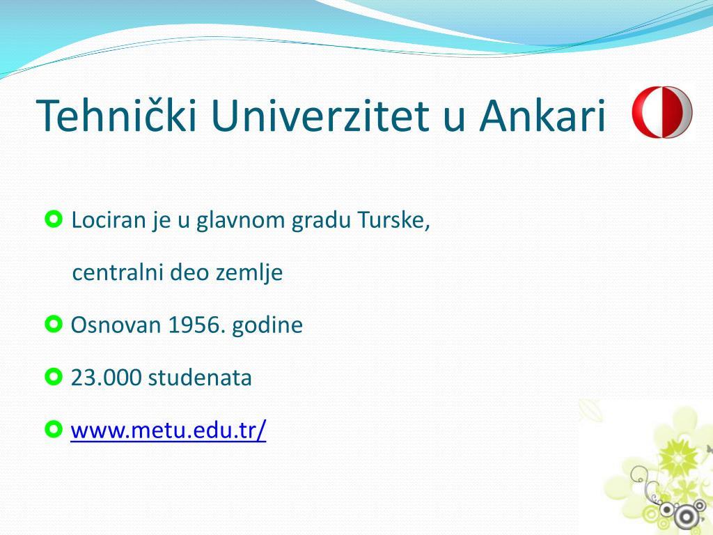 Tehnički Univerzitet u Ankari