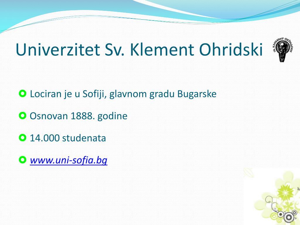 Univerzitet Sv. Klement Ohridski