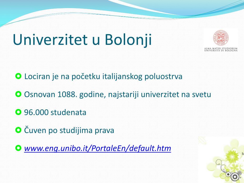 Univerzitet u Bolonji