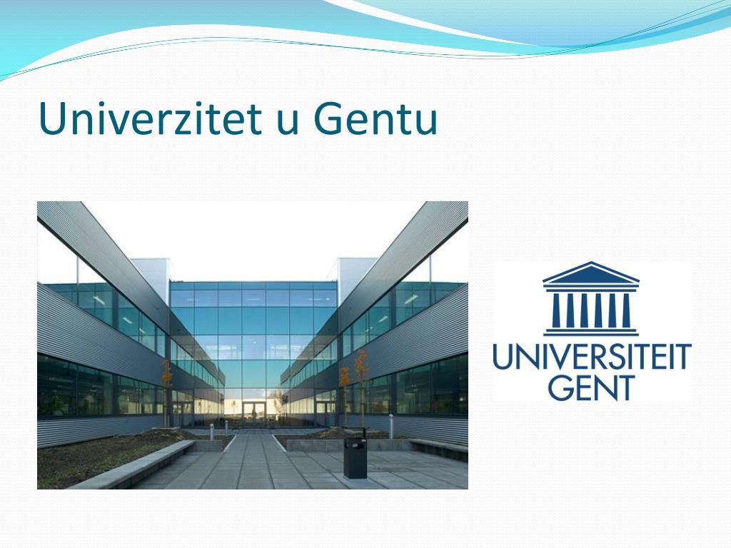 Univerzitet u Gentu