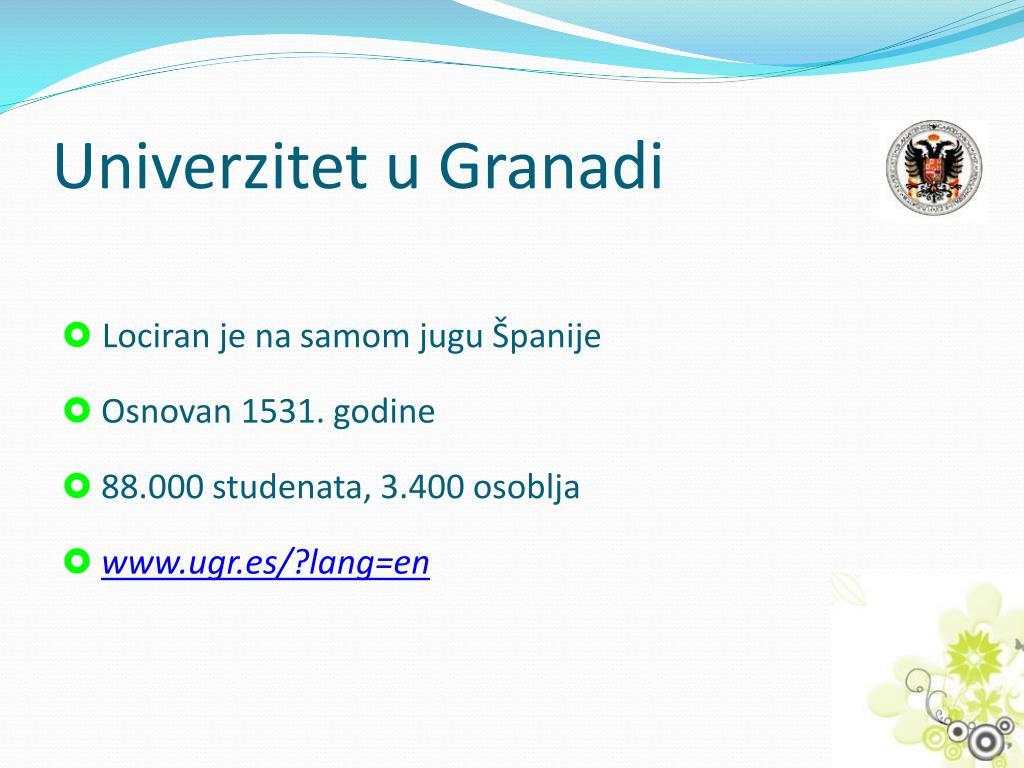 Univerzitet u Granadi