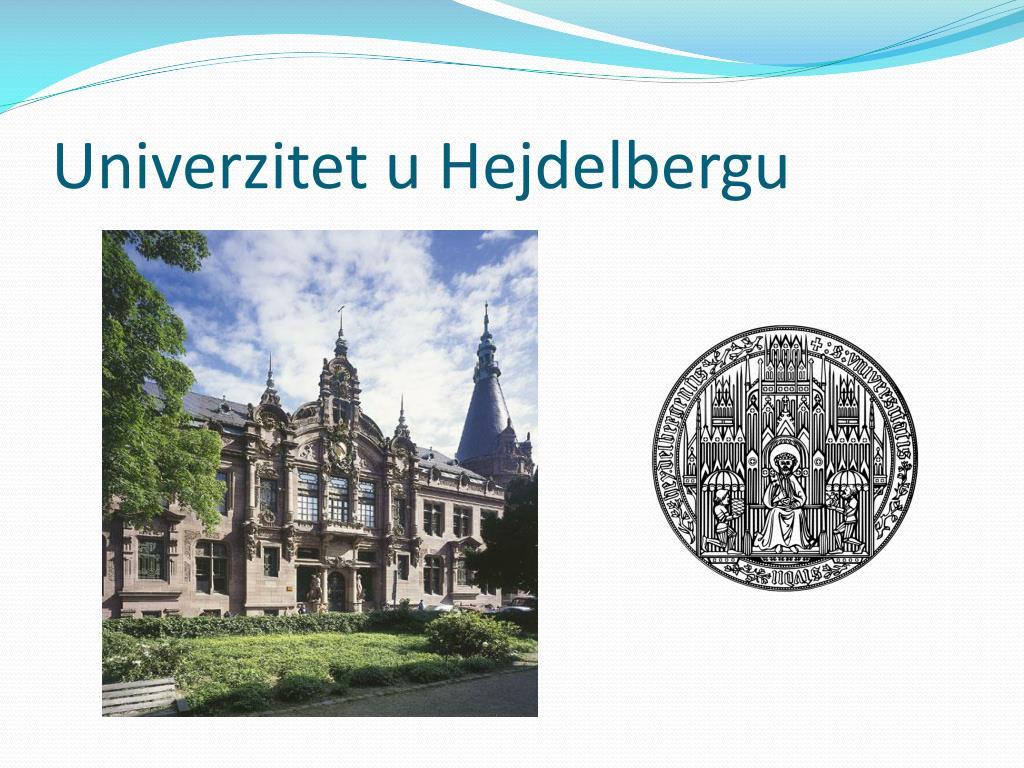 Univerzitet u Hejdelbergu
