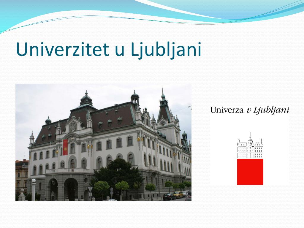 Univerzitet u Ljubljani