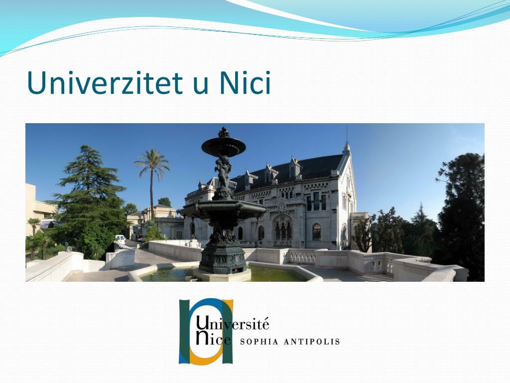 Univerzitet u Nici