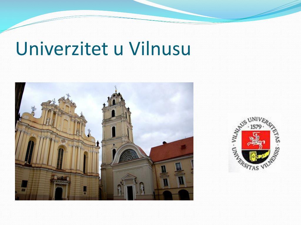 Univerzitet u Vilnusu