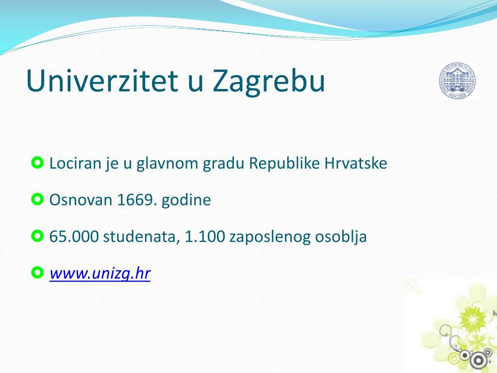 Univerzitet u Zagrebu