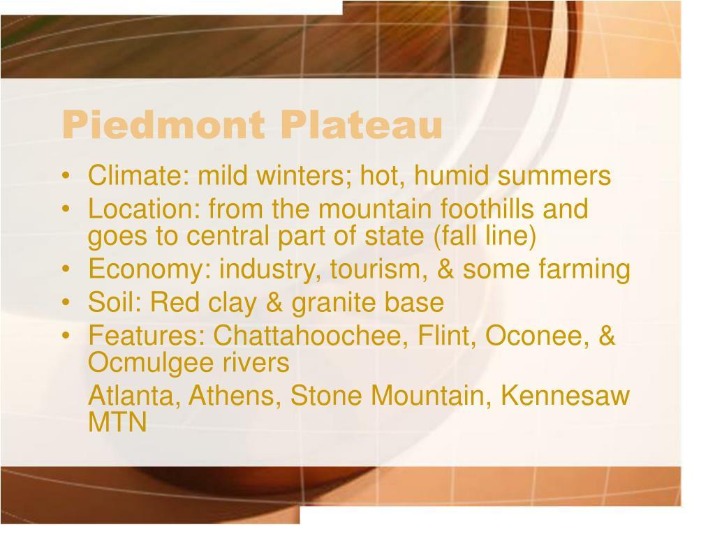 Ppt Appalachian Plateau Region Powerpoint Presentation
