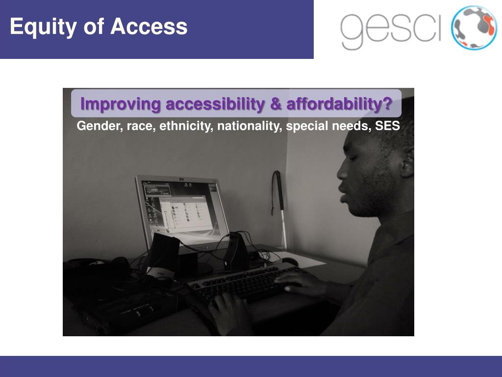 Equity of Access