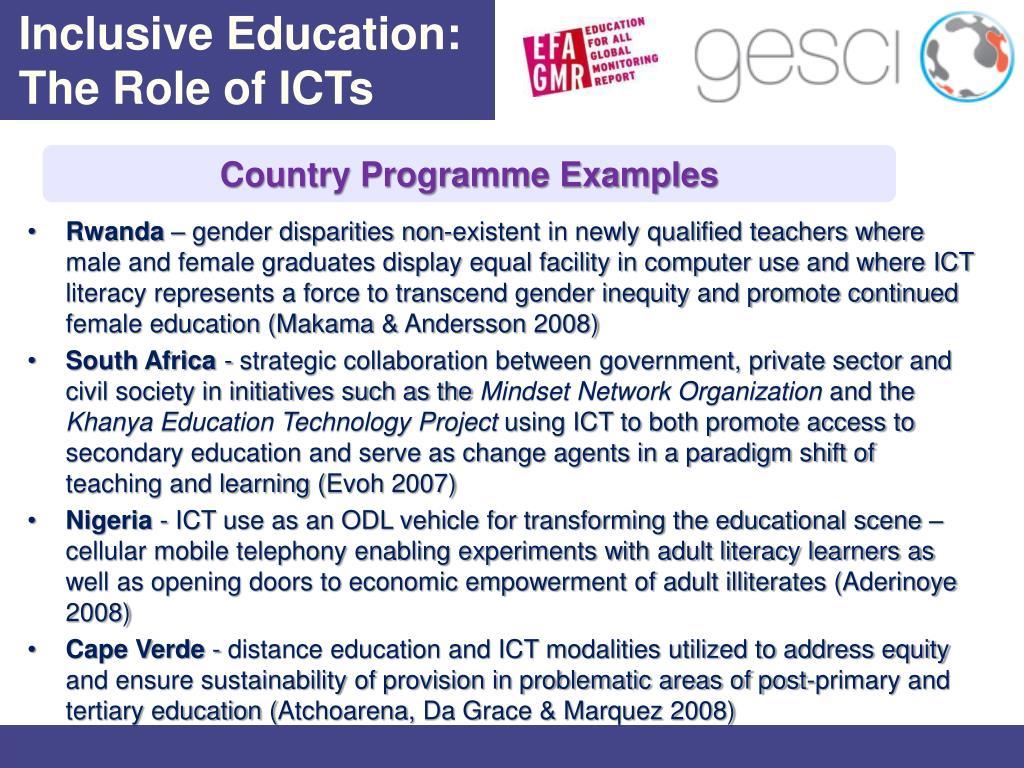 Inclusive Education: