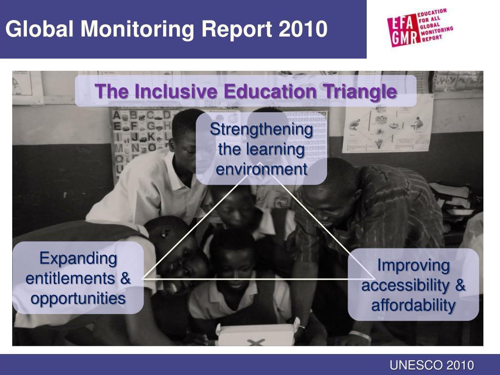 Global Monitoring Report 2010
