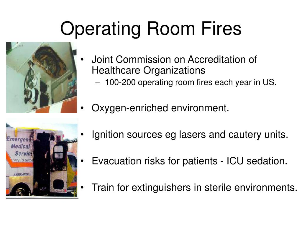 Operating Room Fires