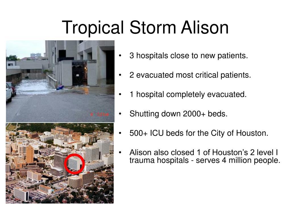 Tropical Storm Alison