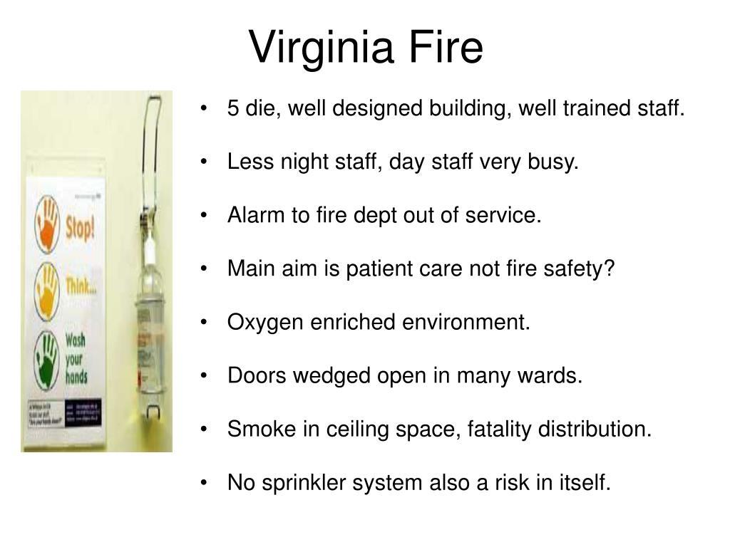 Virginia Fire