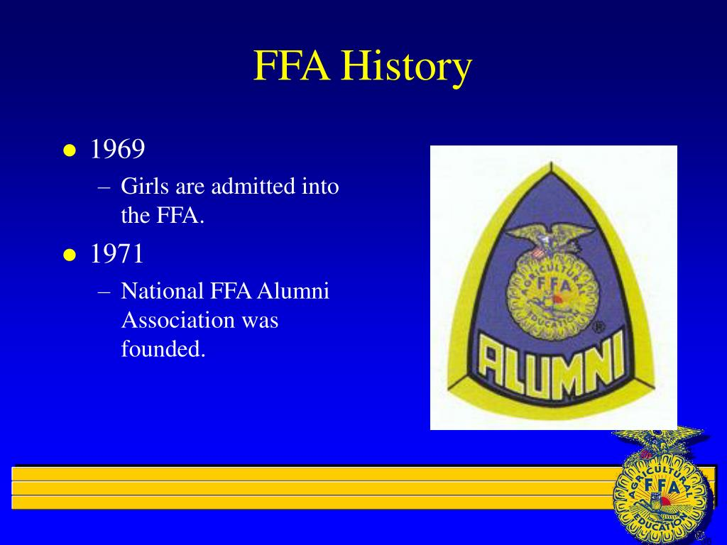 National FFA Organization Records, 1916-2008