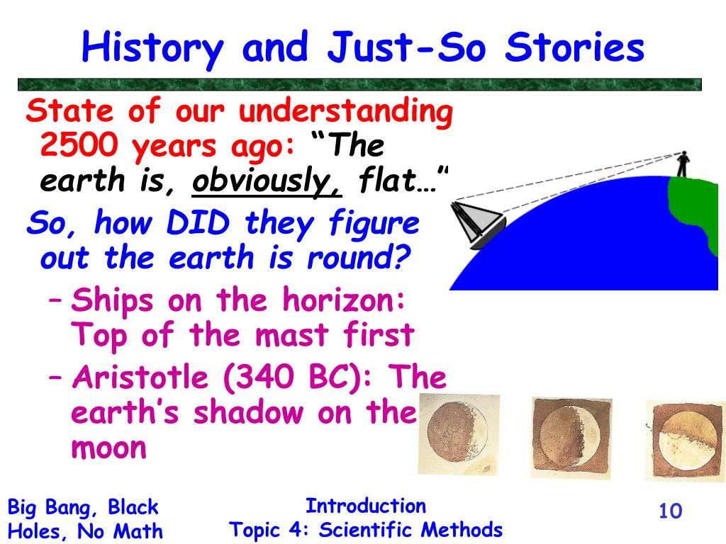 History and Just-So Stories
