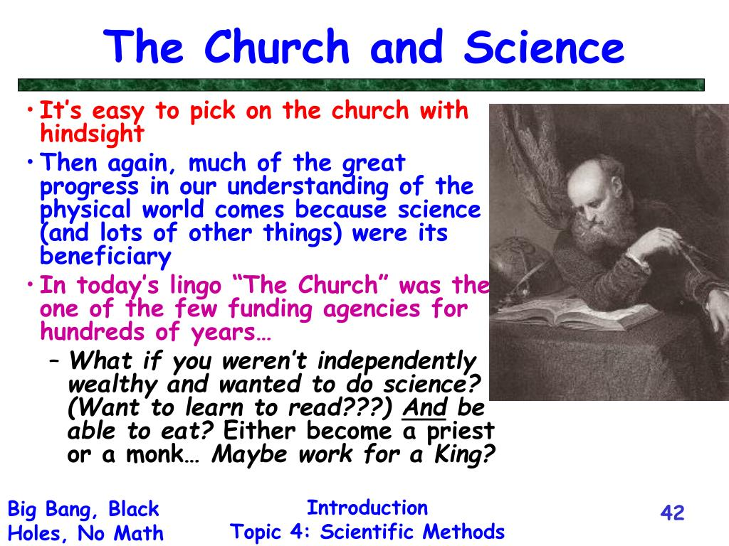 The Church and Science